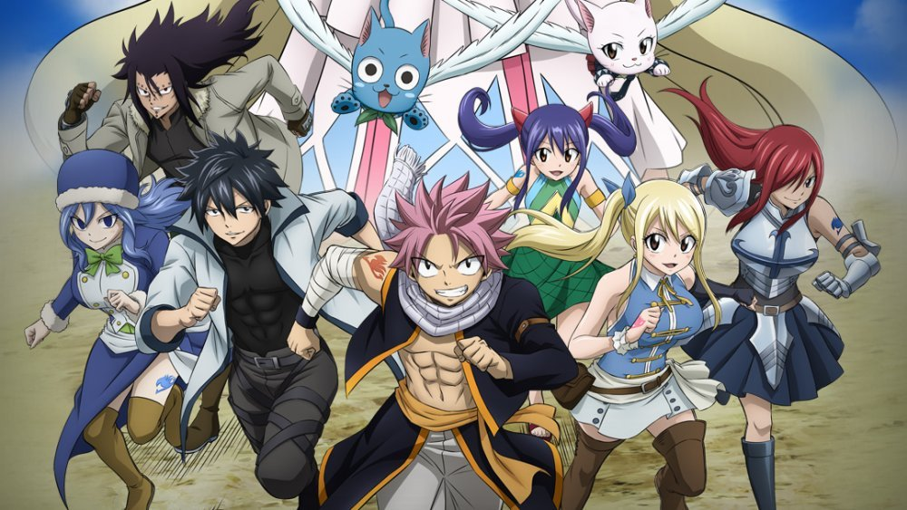 Fairy Tail - Best Fantasy Anime You Need To Watch