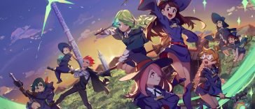 little witch academia animes like black clover