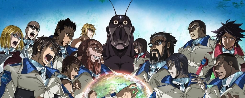 terra formars 18 of the best space themed anime for your inner geek