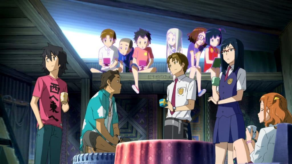 anohana the flower we saw that day best shoujo anime from 70s to today