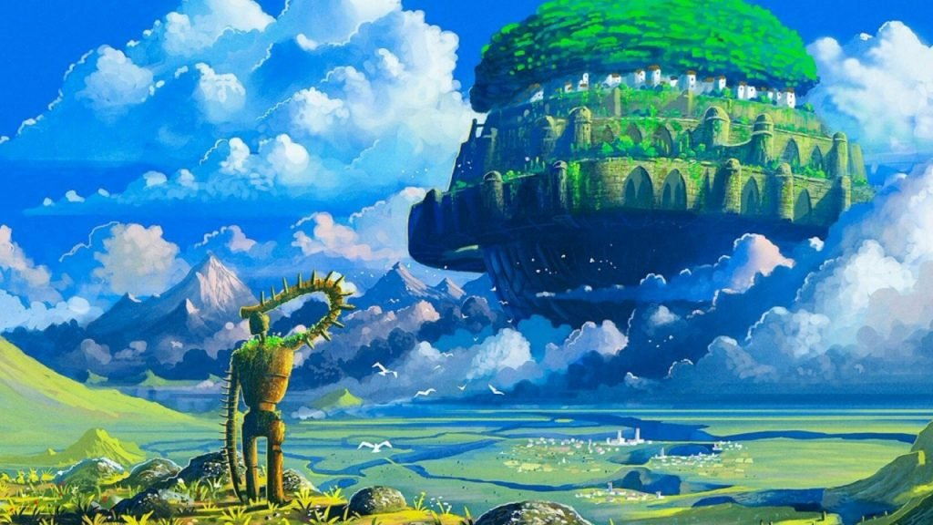 castle in the sky best shoujo anime from 70s to today