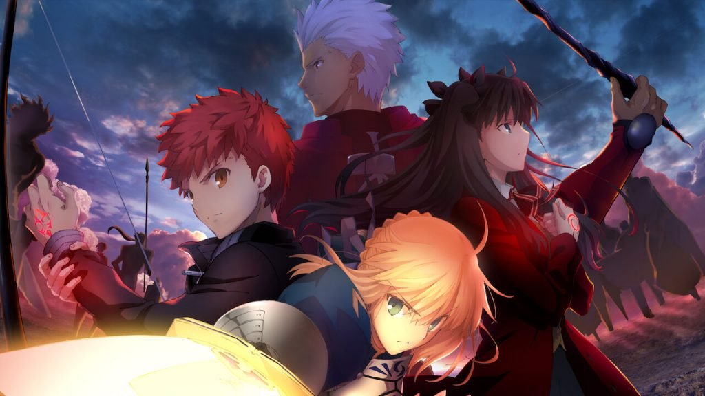 fate stay night best fate anime of all time according to fans