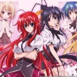 highschool dxd best fan service anime of all time 2