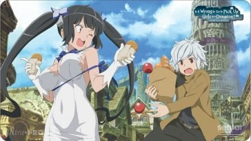 is it wrong to try to pick up girls in a dungeon anime like konosuba