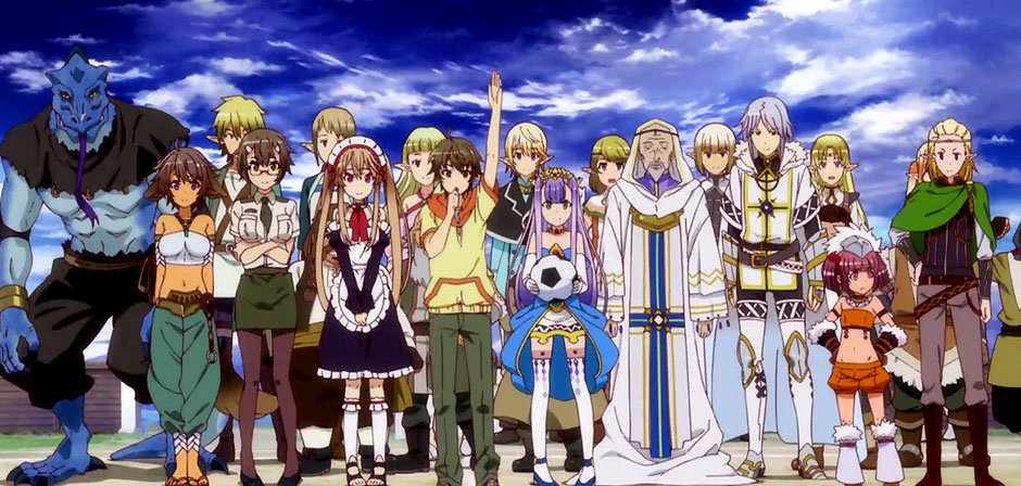 outbreak company 19 anime like no game no life you need to watch today