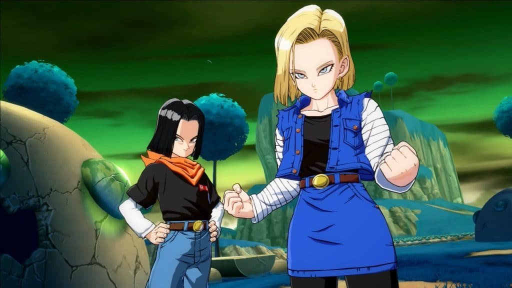 android 18 best female anime characters