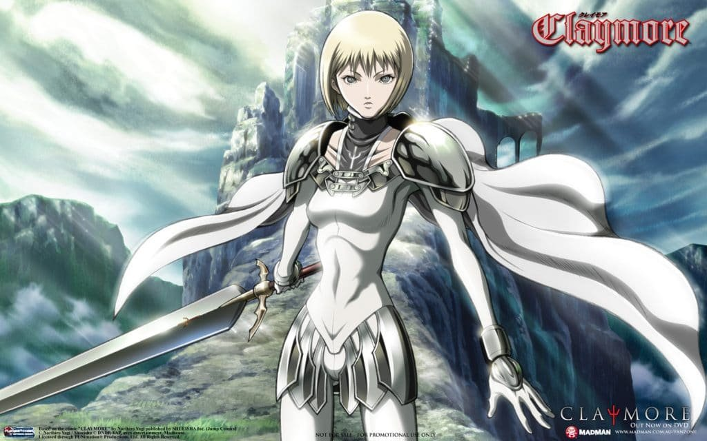 clare best female anime characters