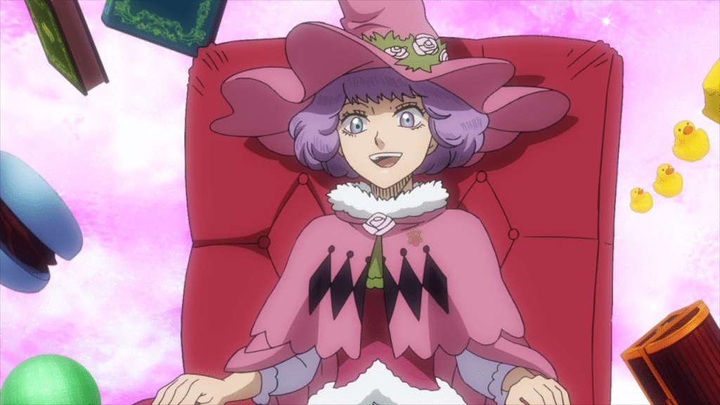 dorothy unsworth black clover anime girls with purple hair