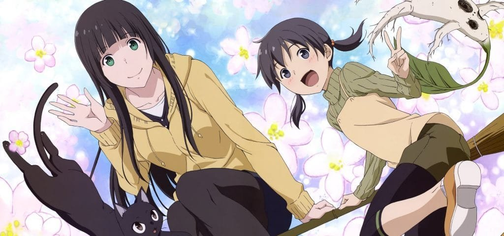 flying witch best slice of life anime