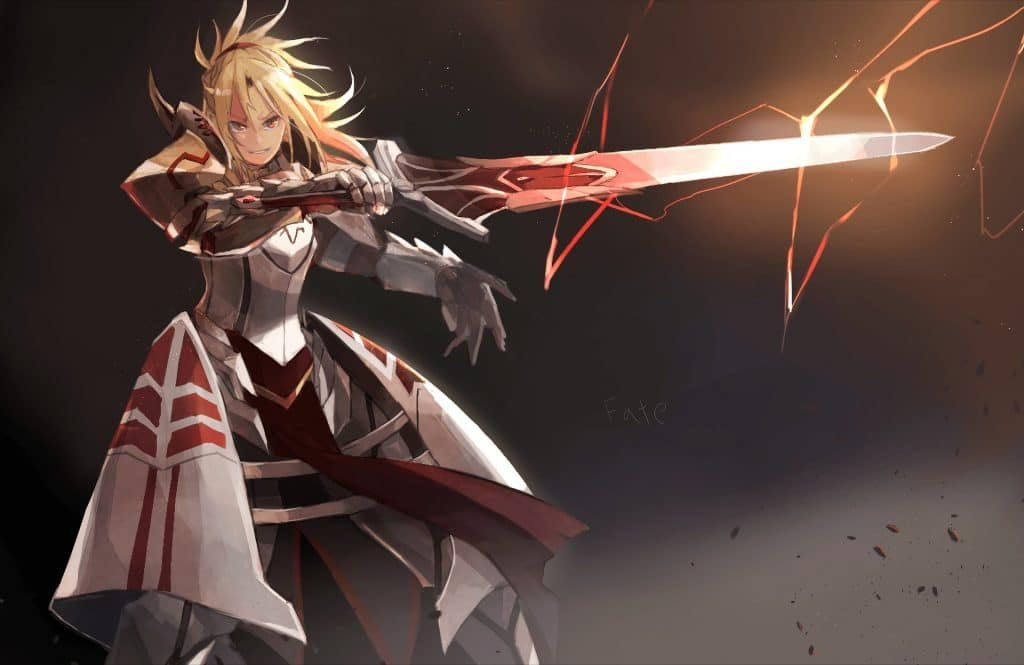 mordred pendragon best female anime characters
