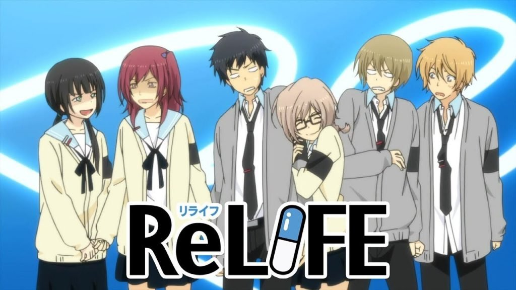 relife best slice of life anime