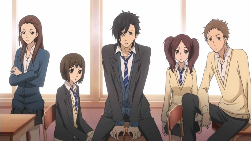 say i love you. best schools in anime