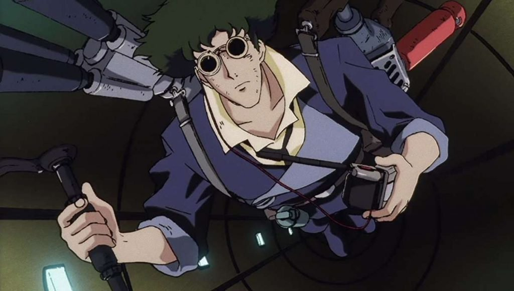 spike spiegel cowboy bebop anime characters with green hair