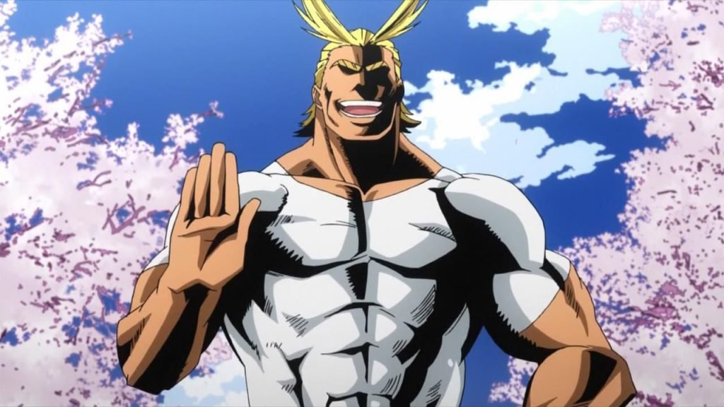 all might my hero academia best anime dads of all time