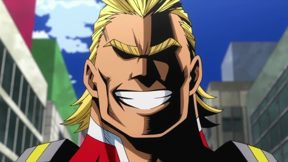 superman goku inspired all might facts about all might