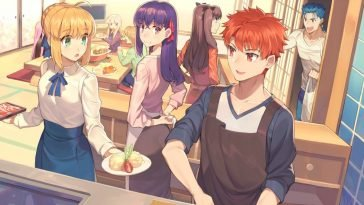 today's menu for the emiya family best cooking anime