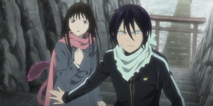 yato iki hiyori noragami 30 of the best anime couples of all time